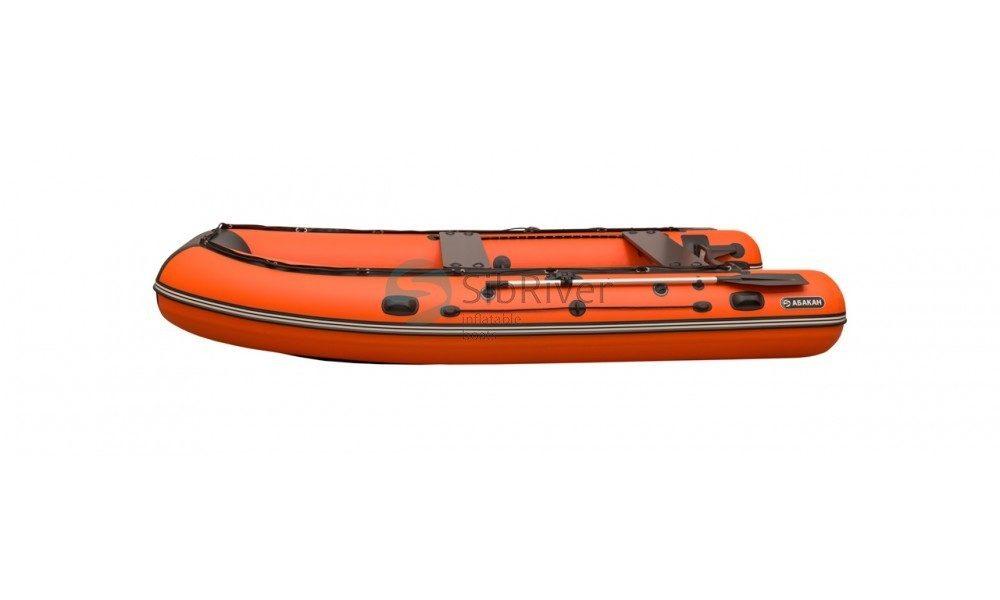 Лодка Абакан-480 Jet Light (надувное дно) SibRiver