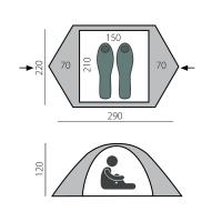 Палатка Solid 2+ (T0494) BTrace_1