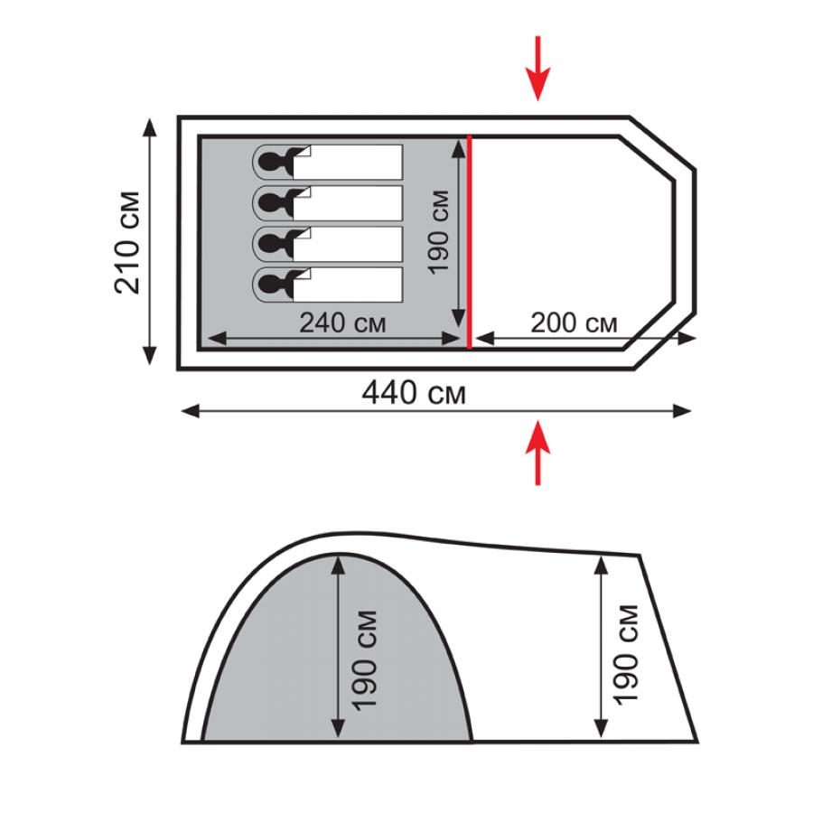 Палатка Totem Catawba 4 (V2)  (TTT-024)_1