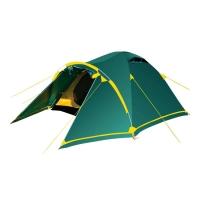 Палатка STALKER 2 V2 зеленый (TRT-75) Tramp
