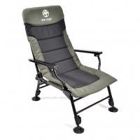 Кресло карповое с подлокотниками SKC-01 Кедр