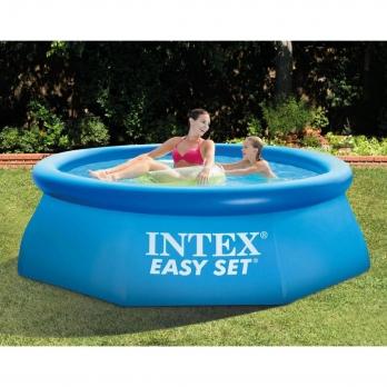 Бассейн Easy Set 2.44 х 0,61 м + фильтр-насос (28108) INTEX