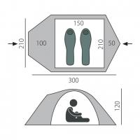 Палатка Chellenge 2 (T0140) BTrace_1