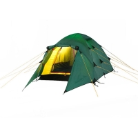 Трекинговая палатка NAKRA 3 green ALEXIKA