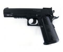 Пистолет пневматический S1911T 4,5мм Stalker